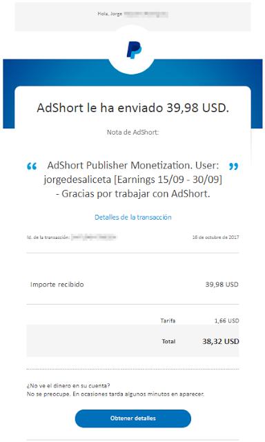 AdShort. Opiniones, pagos y novedades 2020